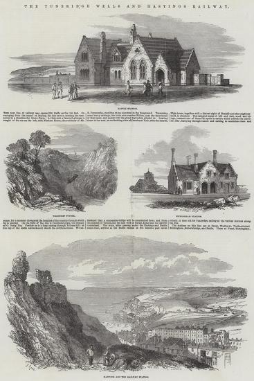 The Tunbridge Wells and Hastings Railway-Samuel Read-Giclee Print