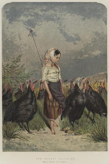 The Turkey Guardian--Giclee Print