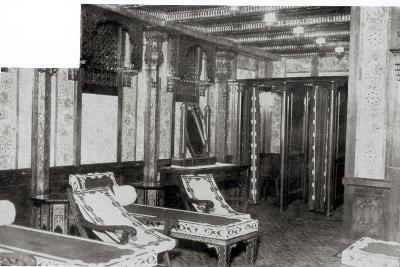 The Turkish Bath Cooling Room on Board the Titanic, 1912--Photographic Print