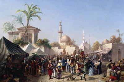 The Turkish Market-Rudolf von Alt-Giclee Print