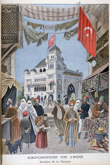 The Turkish Pavilion at the Universal Exhibition of 1900, Paris, 1900--Giclee Print