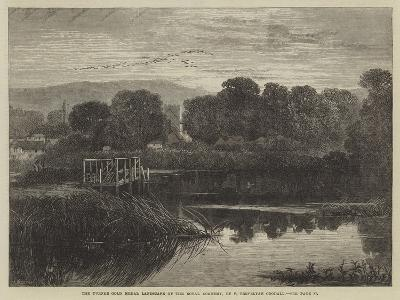 The Turner Gold Medal Landscape of the Royal Academy-Frederick Trevelyan Goodall-Giclee Print
