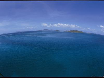 The Turquoise Ocean Photographed from the Mast of a Boat-Todd Gipstein-Photographic Print