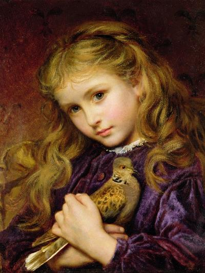 The Turtle Dove-Sophie Anderson-Giclee Print