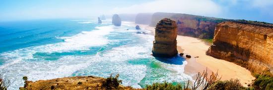 The Twelve Apostles by the Great Ocean Road in Victoria, Australia-StanciuC-Photographic Print
