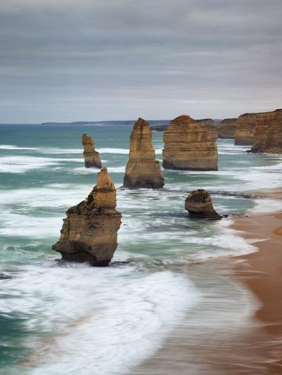 The Twelve Apostles, Port Campbell, Victoria, Australia-Walter Bibikow-Photographic Print