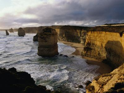 The Twelve Apostles Rock Pinnacles, Port Campbell National Park, Australia-Richard Nebesky-Photographic Print