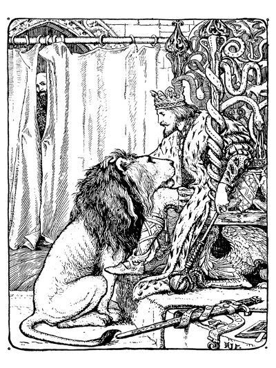 The Twelve Huntsman-H.J. Ford-Art Print