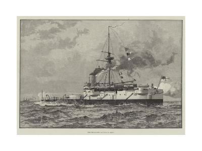 The Twin-Screw Battle-Ship Hero--Giclee Print
