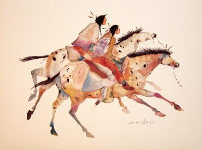The Two Brothers-Carol Grigg-Art Print