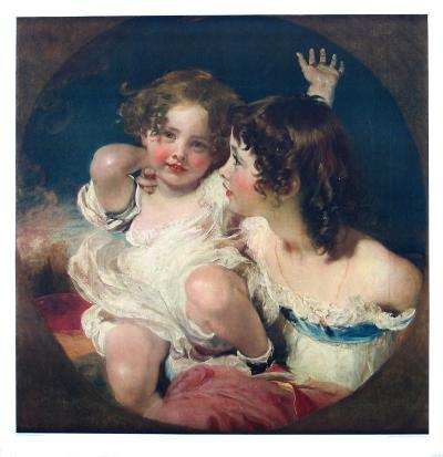 The Two Calmady-Children-Thomas Lawrence-Collectable Print