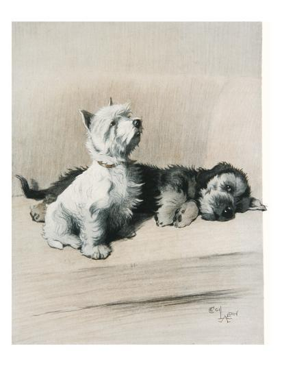The Two Friends--Giclee Print