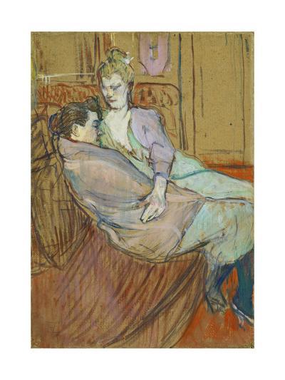 The Two Friends-Henri de Toulouse-Lautrec-Giclee Print