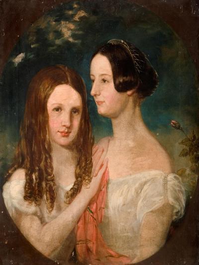 The Two Misses Preston-Robinson Elliot-Giclee Print