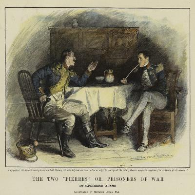 The Two Pierres; Or, Prisoners of War-John Seymour Lucas-Giclee Print