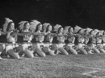 The Tyler Apache Belles of Tyler Junior College-Joe Scherschel-Photographic Print