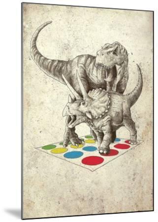 The Ultimate Battle-Michael Buxton-Mounted Art Print