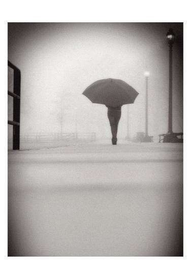 The Umbrella Walker 9-Sandro De Carvalho-Art Print