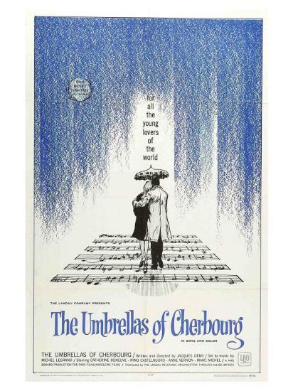 The Umbrellas of Cherbourg, 1964--Art Print