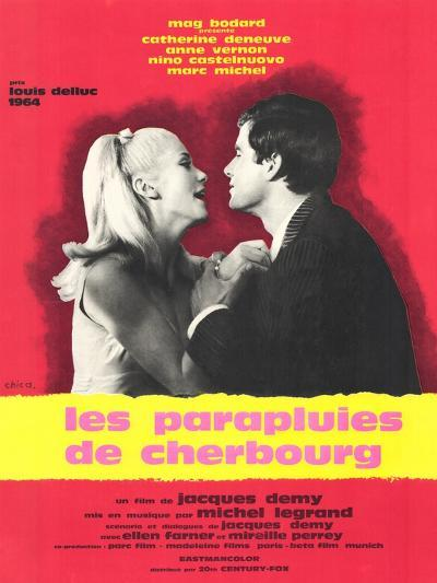 The Umbrellas of Cherbourg, French Movie Poster, 1964--Art Print