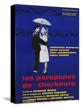 The Umbrellas of Cherbourg, French Movie Poster, 1964