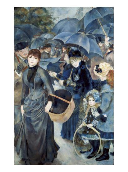 The Umbrellas-Pierre-Auguste Renoir-Premium Giclee Print