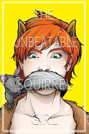 The Unbeatable Squirrel Girl No.3 Cover--Framed Art Print