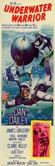 The Underwater Warrior, 1958--Art Print