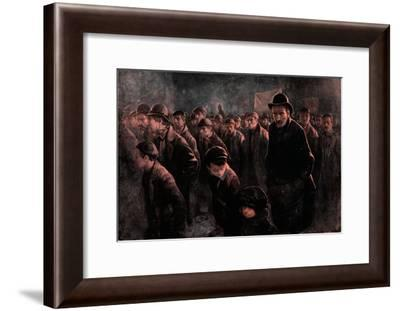 'The Unemployed', c1911, (1912)-John Hassall-Framed Giclee Print