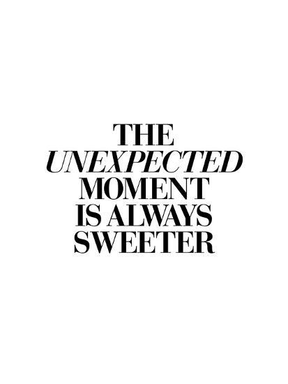 The Unexpected Moment Is Always Sweeter-Brett Wilson-Art Print