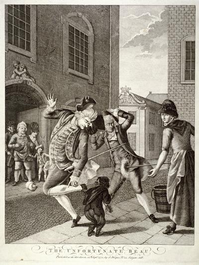 The Unfortunate Beau, 1772--Giclee Print
