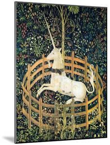 The Unicorn In Captivity (Detail)