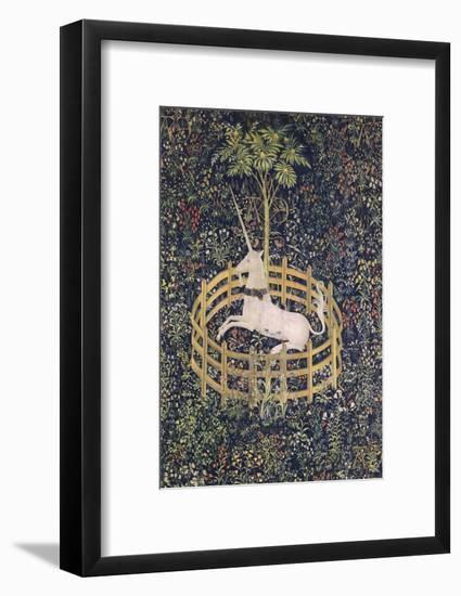The Unicorn in Captivity Tapestry--Framed Giclee Print