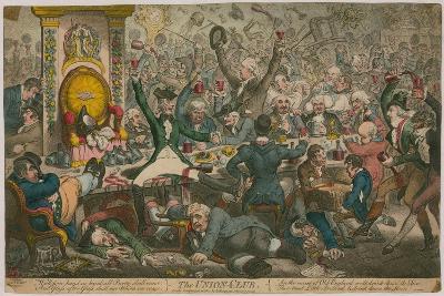 The Union Club-James Gillray-Giclee Print
