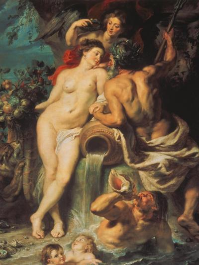 The Union of Earth and Water, about 1618-Peter Paul Rubens-Giclee Print
