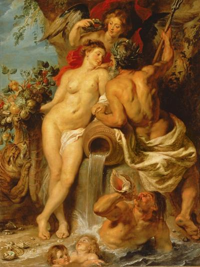 The Union of Earth and Water, C.1618-Peter Paul Rubens-Giclee Print
