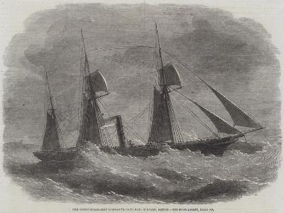 The Union Steam-Ship Company's Cape Mail Steamer Briton-Edwin Weedon-Giclee Print