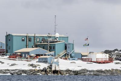 The United States Antarctic Research Base at Palmer Station, Antarctica, Polar Regions-Michael Nolan-Photographic Print
