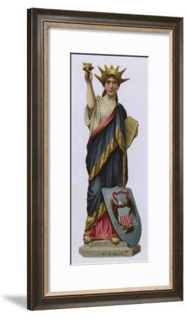 The United States of America--Framed Giclee Print