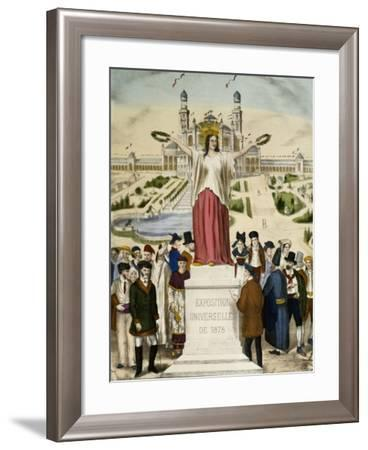 The Universal Exposition in Paris in 1878--Framed Giclee Print