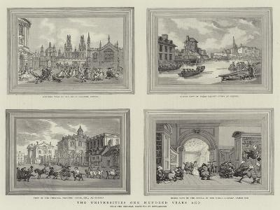 The Universities One Hundred Years Ago-Thomas Rowlandson-Giclee Print