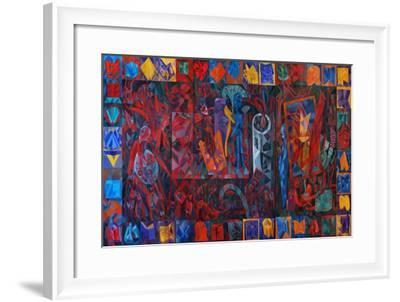 The University, 1991--Framed Giclee Print