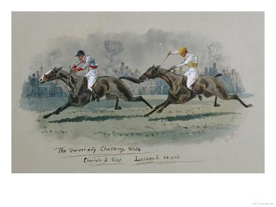 The University Challenge Whip, Feb 1909. W. G. Longe (Early 20th Century)-W.g. Longe-Giclee Print