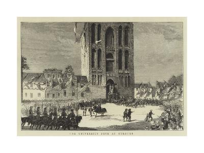 The University Fete at Utrecht--Giclee Print