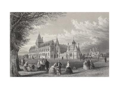 The University Museum: Oxford Almanack for 1860, 1860-John Le Keux-Giclee Print