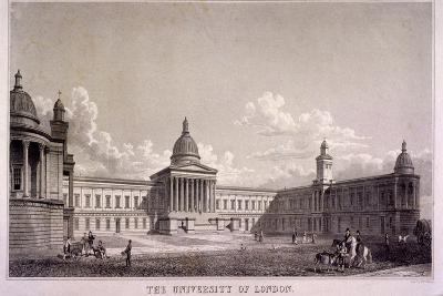 The University of London, Gower Street, St Pancras, London, C1835-Thomas Higham-Giclee Print