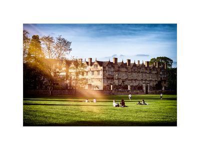 The University of Oxford - Architecture & Building - Oxford - UK - England - United Kingdom-Philippe Hugonnard-Photographic Print