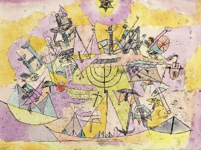 The Unlucky Ships-Paul Klee-Giclee Print