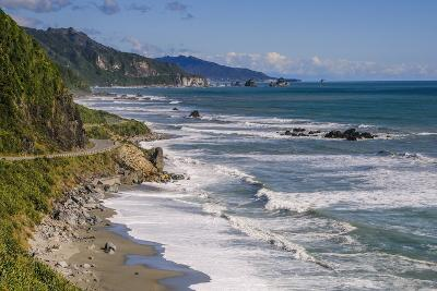 The Untouched West Coast of South Island Between Greymouth and Westport, West Coast, South Island-Michael Runkel-Photographic Print