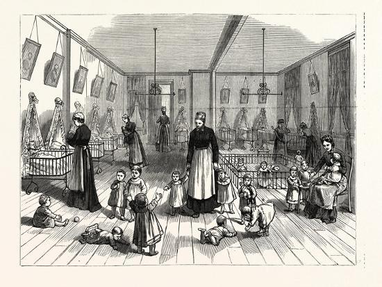 The Upper Creche and Pound for Small Children in the Fitch Creche Buffalo N.Y--Giclee Print